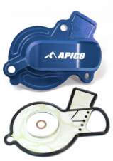 WATER PUMP COVER KTM/HUSKY SX-F/FC 450 16-20, EXC-F/FE/FX 450-501 17-20 BLUE (R)